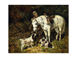 After the Hunt Giclee Print by John Emms