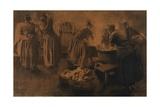 The Fog Giclee Print by Leon Henri Marie Frederic