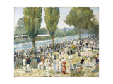 Henley, 1934 Giclee Print by Sir John Lavery