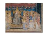 The Majesty, 1313-1315 Giclée-Druck von Simone Martini