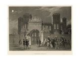 Hardwicke Hall, Derbyshire Giclee Print by Joseph Nash