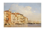Grand Canal, Venice Giclee Print by Richard Parkes Bonington