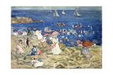 New England Beach Scene, C.1896-97 Giclee Print by Maurice Brazil Prendergast