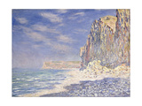 Cliffs Near Fecamp, 1881 Giclee Print by Claude Monet