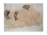 Three Boulders Giclee Print by Auguste Rodin
