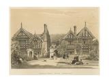 Garden Front, Speke, Lancashire Giclee Print by Joseph Nash