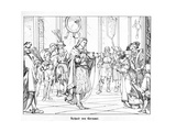 Richard of Cornwal Giclee Print by Alfred Rethel