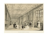 Long Gallery, Haddon Hall, Derbyshire Giclee Print by Joseph Nash