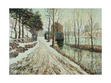 Melting Snow Giclee Print by Ernest Lawson