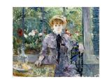 Berthe Morisot - After Breakfast, 1881 - Giclee Baskı