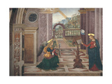 Annunciation, 1501 Giclee Print by Bernardino di Betto Pinturicchio