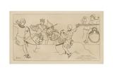 French Leaders, Second Half of the 11th Century Giclee-trykk av Raphael Jacquemin