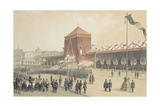 Proclamation of the Republic, 12th November 1848 Giclee Print by Jules Gaildrau