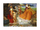 Now Is Pilgrim Year Fair Autumn's Charge' Giclee Print by John Byam Liston Shaw
