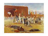 Moorish Procession Giclee Print by Jean Joseph Benjamin Constant