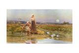 The Gleaners, 1896 Giclee Print by Thomas James Lloyd
