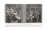 The Reign of Saint Louis, or His Great Works Giclee Print by Alexandre Cabanel