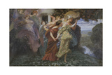 The Marriage of Persephone Giclee Print by Henry Siddons Mowbray