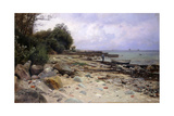 Looking Out to Sea, 1919 Giclee Print by Peder Monsted