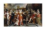The Calumney of Apelles Giclee Print by Maarten de Vos