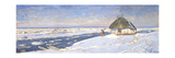 Winter in Osieku, C.1920 Giclee Print by Julian Falat