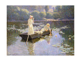 Pond Lillies Giclee Print by Abbott Fuller Graves