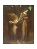 Vale or Farewell, 1913 Giclee Print by Arthur Hacker