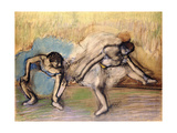 Dancers at Rest, C.1896 Giclee Print by Edgar Degas