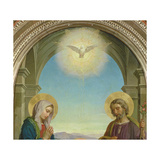 Holy Family, 1898 Giclee Print by Alessandro Franchi