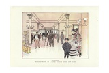 Western Ways, in a Fifth Avenue Hotel, New York Giclee Print by Phil May