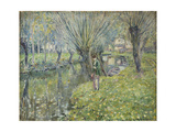 By the River Giclee Print by Frederick Carl Frieseke