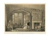 Bay Window in Drawing Room, Lyme Hall, Cheshire Giclee Print by Joseph Nash