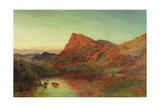 Dolwyddelan Giclee Print by Alfred De Breanski