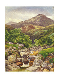 Ben Vorlich, 1858 Giclee Print by Benjamin Williams Leader