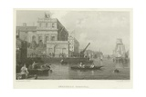 Greenwich Hospital Giclee Print by George Chambers