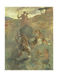 Allegory, the Spring of Life, 1883 Giclee Print by Henri de Toulouse-Lautrec