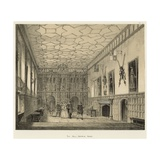 The Hall, Knowle, Kent Giclee Print by Joseph Nash