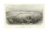 Jerusalem from the Mount of Olives Giclee Print by Edward Paxman Brandard
