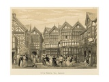 Little Moreton Hall, Cheshire Giclee Print by Joseph Nash