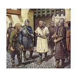 The Capture of King Stephen Giclee Print by Mike White