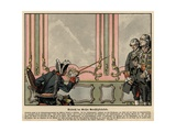Frederick the Great's Love of Justice Giclee Print by Carl Rochling