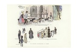 An Artist's Wanderings, in Rome Giclee Print by Phil May