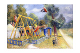 French Fair, C.1927 Giclee Print by William James Glackens