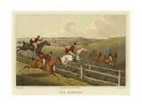 Fox Hunting Giclee Print by Henry Thomas Alken