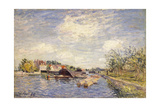 Edges of the Loing, 1885 Giclee Print by Alfred Sisley