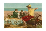 The Boyhood of Sir Walter Raleigh Giclee Print by John Everett Millais