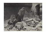 The Lion's Awakening Giclee Print by Paul Friedrich Meyerheim