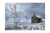Drover's Arms and the Red Flag, Near Garth, 1992 Giclee Print by Huw S. Parsons