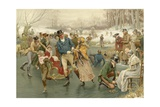 A Merry Christmas Giclee Print by Frank Dadd