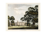 Cobham Hall in Kent, 1800 Giclee Print by John George Wood